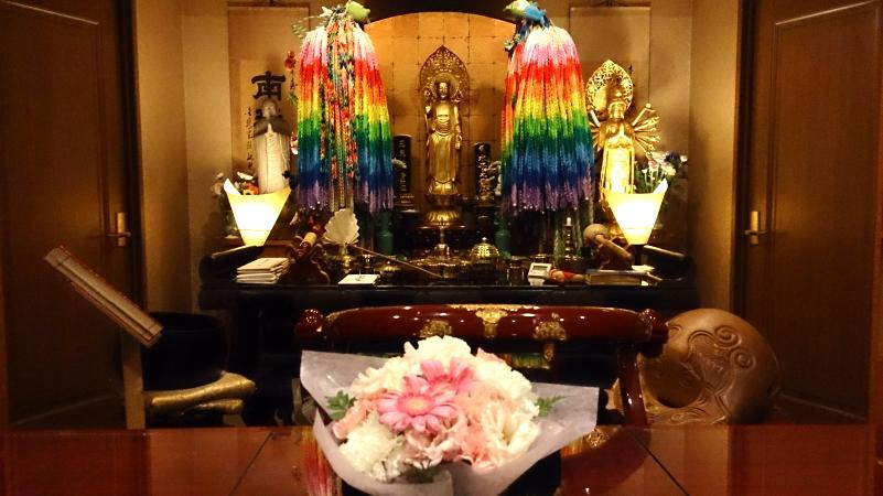 千葉県の方からお花が届きました