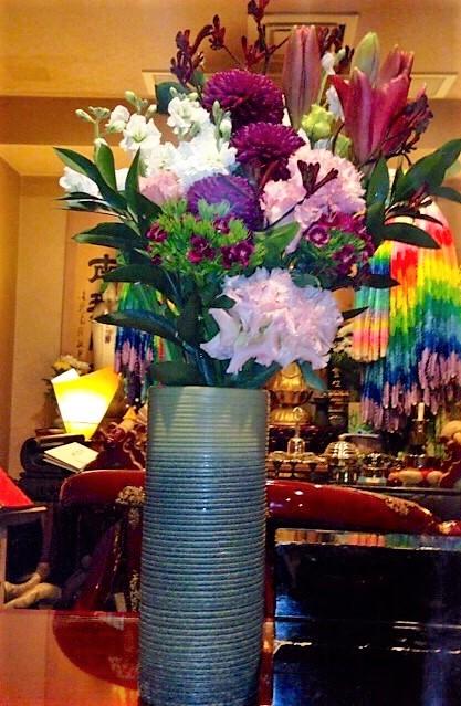 11月30日 埼玉県の方よりお花が届きました。
