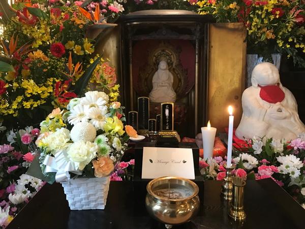 佐賀県の方よりお花が届きました