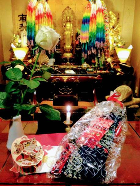 東京都世田谷区の方よりお花とお供物が届きました