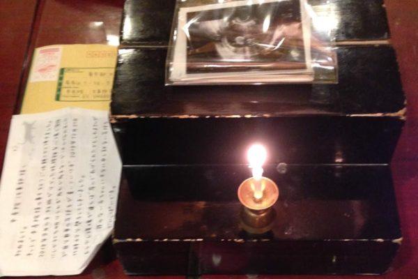 長野県の方よりエコー写真とお手紙が届きました。