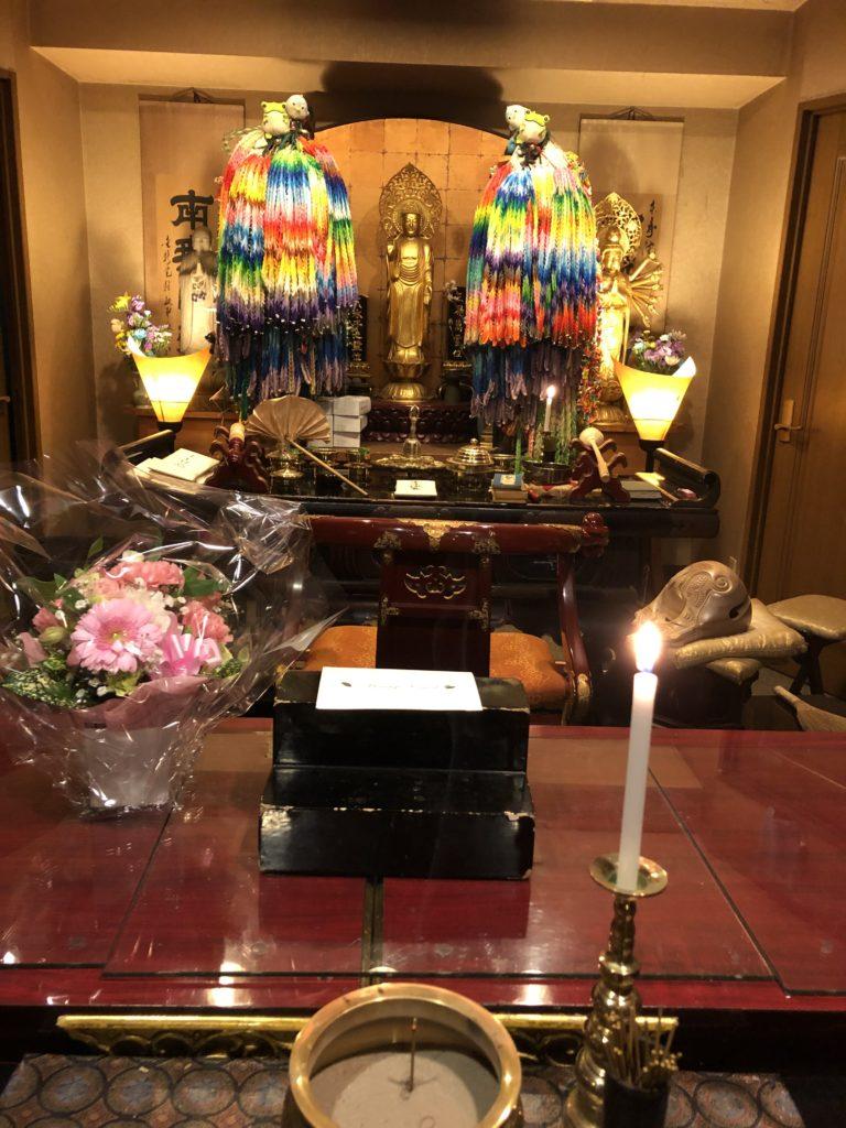 佐賀県佐賀市の方よりお花が届きました。