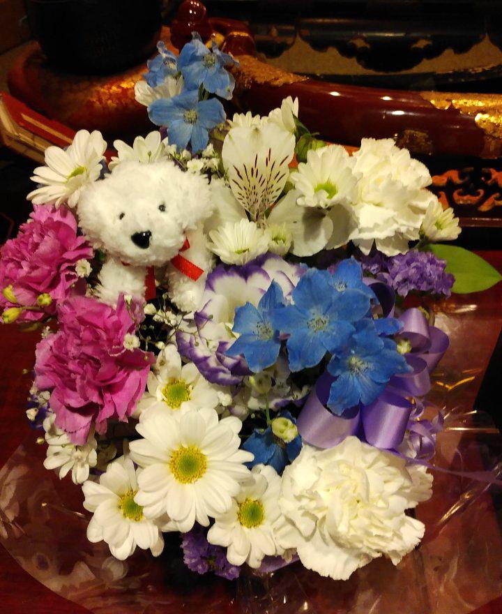東京都東大和市の方よりお花が届きました