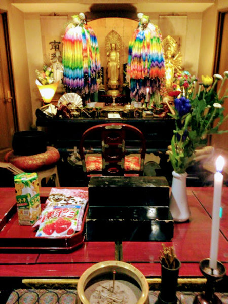 埼玉県所沢市の方よりお花とお供物が届きました。