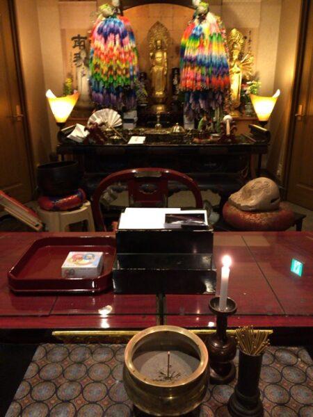 茨城県の方よりエコー写真、お供え物、お子様へのお手紙が届きました。